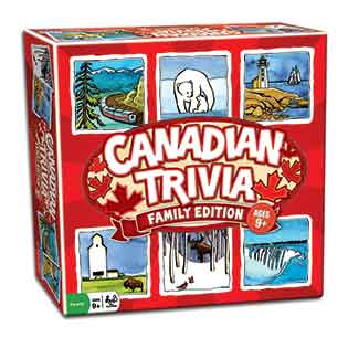 Canadian Trivia Family Edition board game