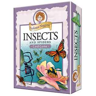 Kids Card Game | Professor Noggin's Insects and Spiders kids card games