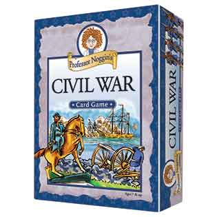 Professor Noggin's Civil War card games kids card games