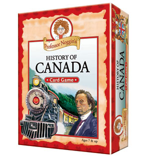 Kids Card Game | Professor Noggin's History of Canada kids card games