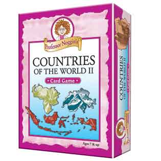 Kids Card Game | Professor Noggin's Countries of the World II kids card games