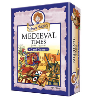 Kids Card Game | Professor Noggin'sMedieval Times