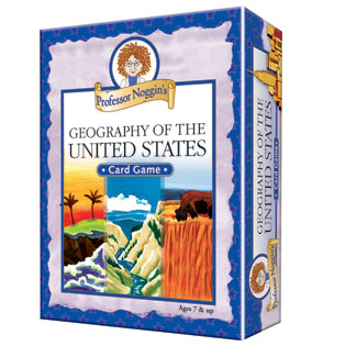ids Card Game | Professor Noggin's Geography of the United States card games
