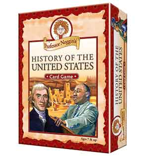 Kids Card Game | Professor Noggin's History of the United States kids card games