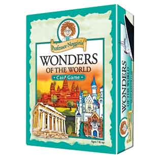 Kids Card Game | Professor Noggin's Wonders of the World