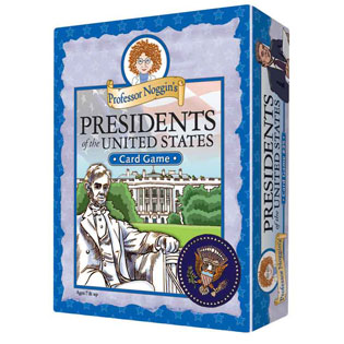 Kids Card Game | Professor Noggin's Presidents of the United States card games