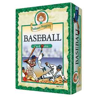 Professor Noggin's Baseball kids card games