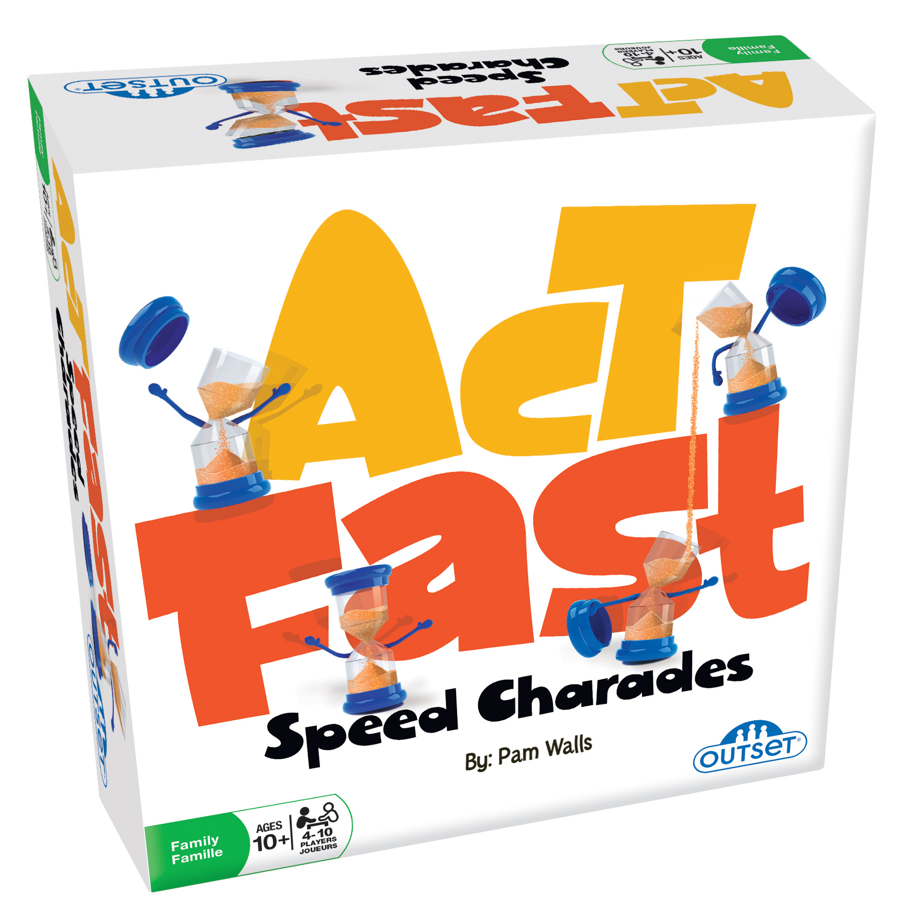 Act Fast party game by Outset Media