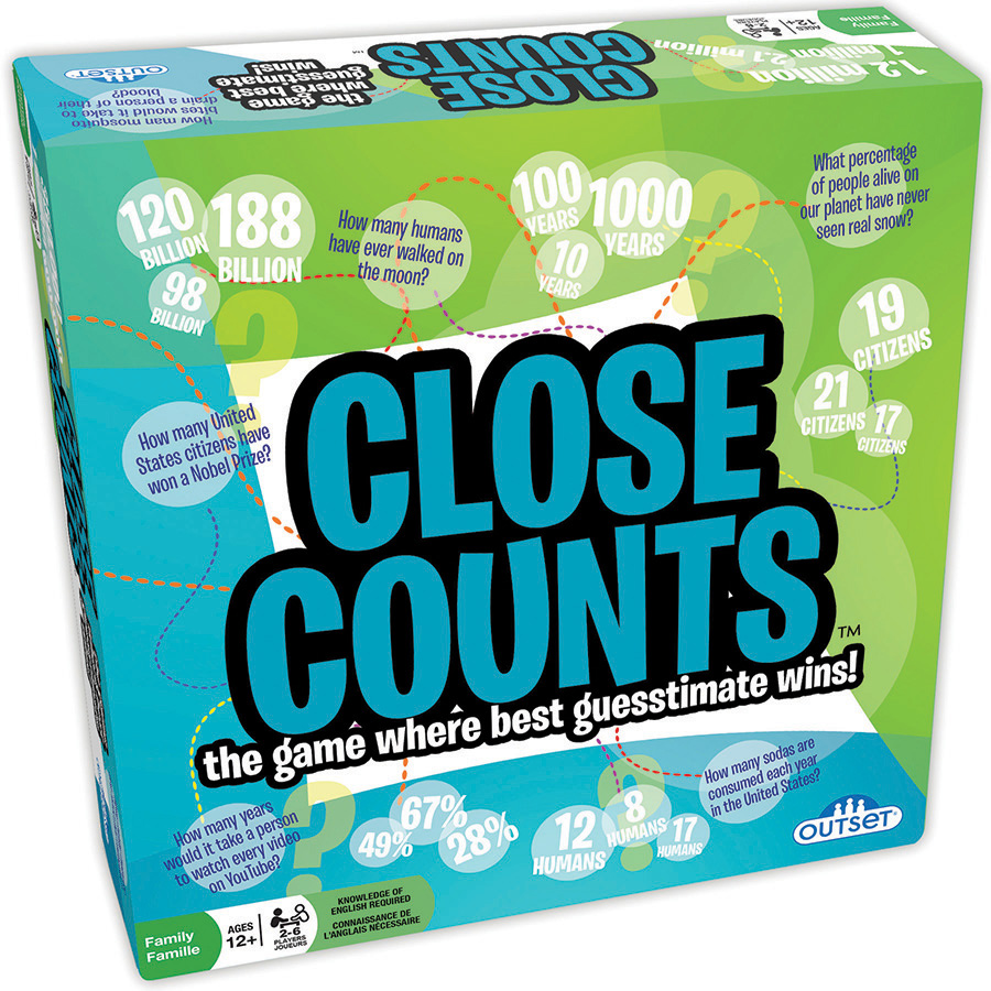 Close Counts party game by Outset Media