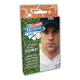 Ultimate Baseball Trivia (Series A) sports card game