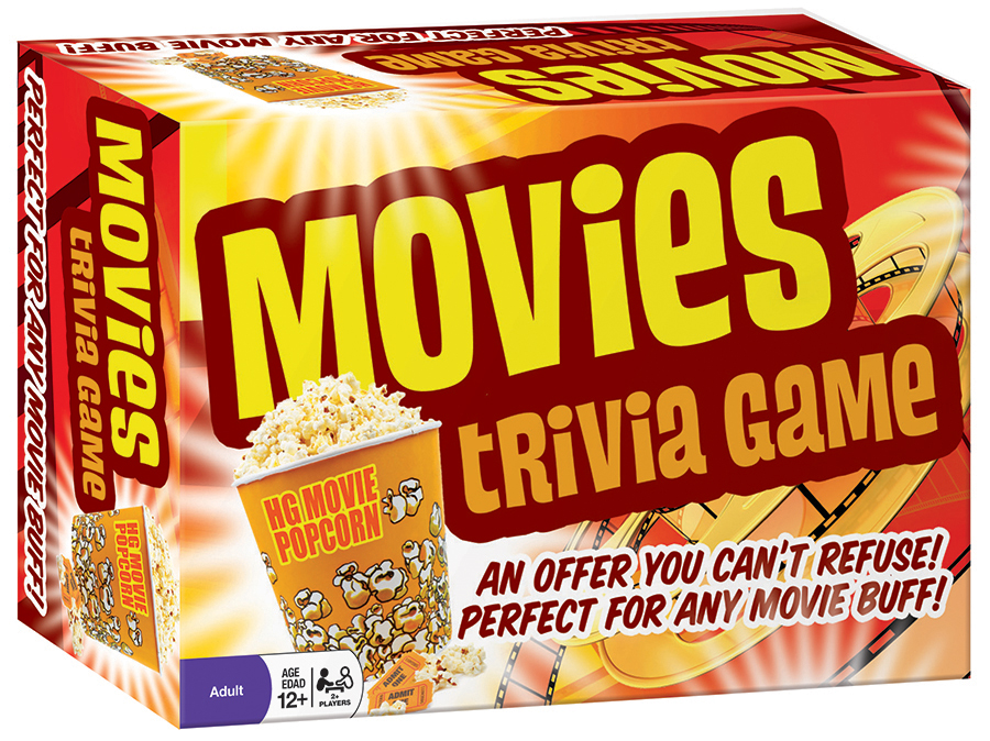 Movies Trivia Game | tabletop game | Outset Media