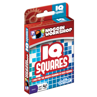 Mind Teasers | NOGGIN WORKSHOP™IQ Squares card brain games
