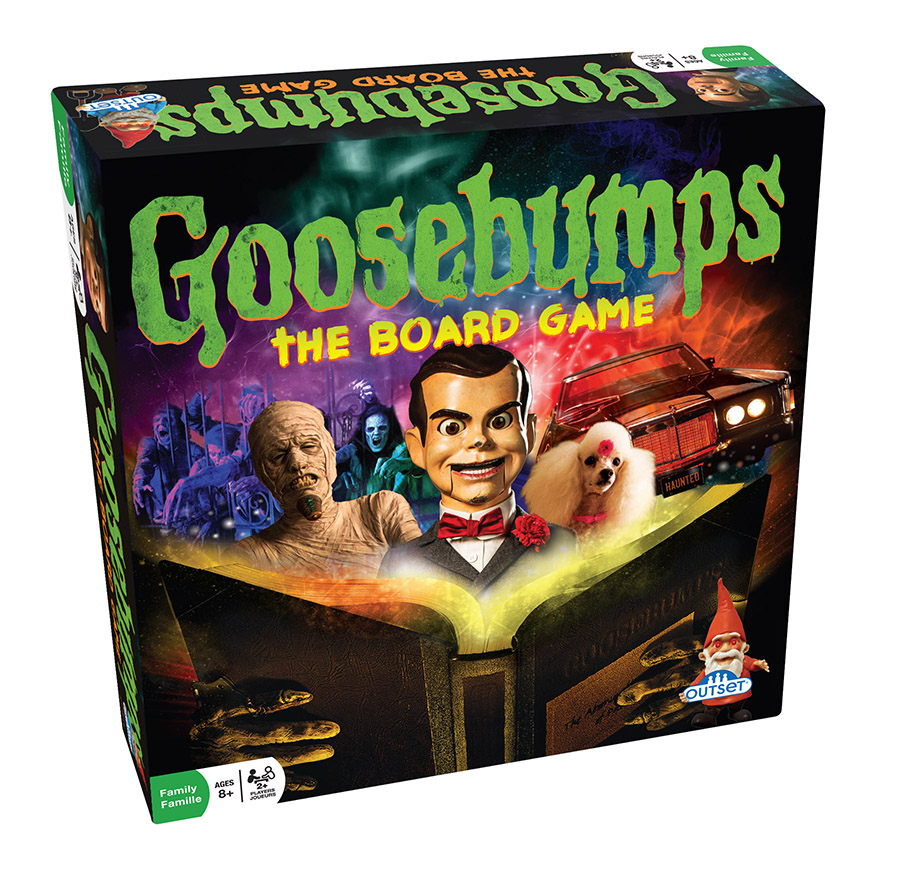 Goosebumps board game by R.L.Stine | Outset Media