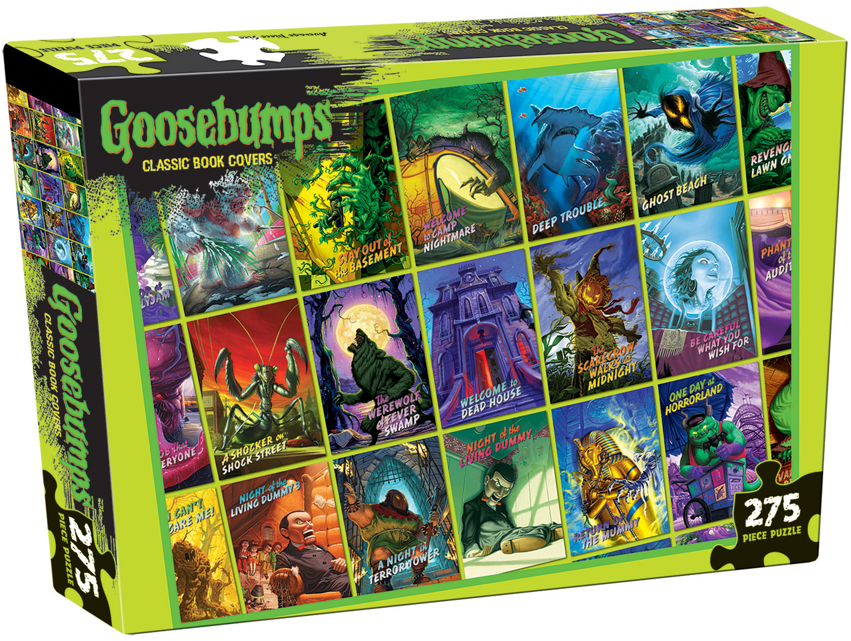 Goosebumps 275 piece jigsaw puzzle from Outset Media Canadian Distributor