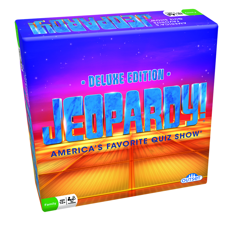 Jeopardy Deluxe Edition board game by Outset Media