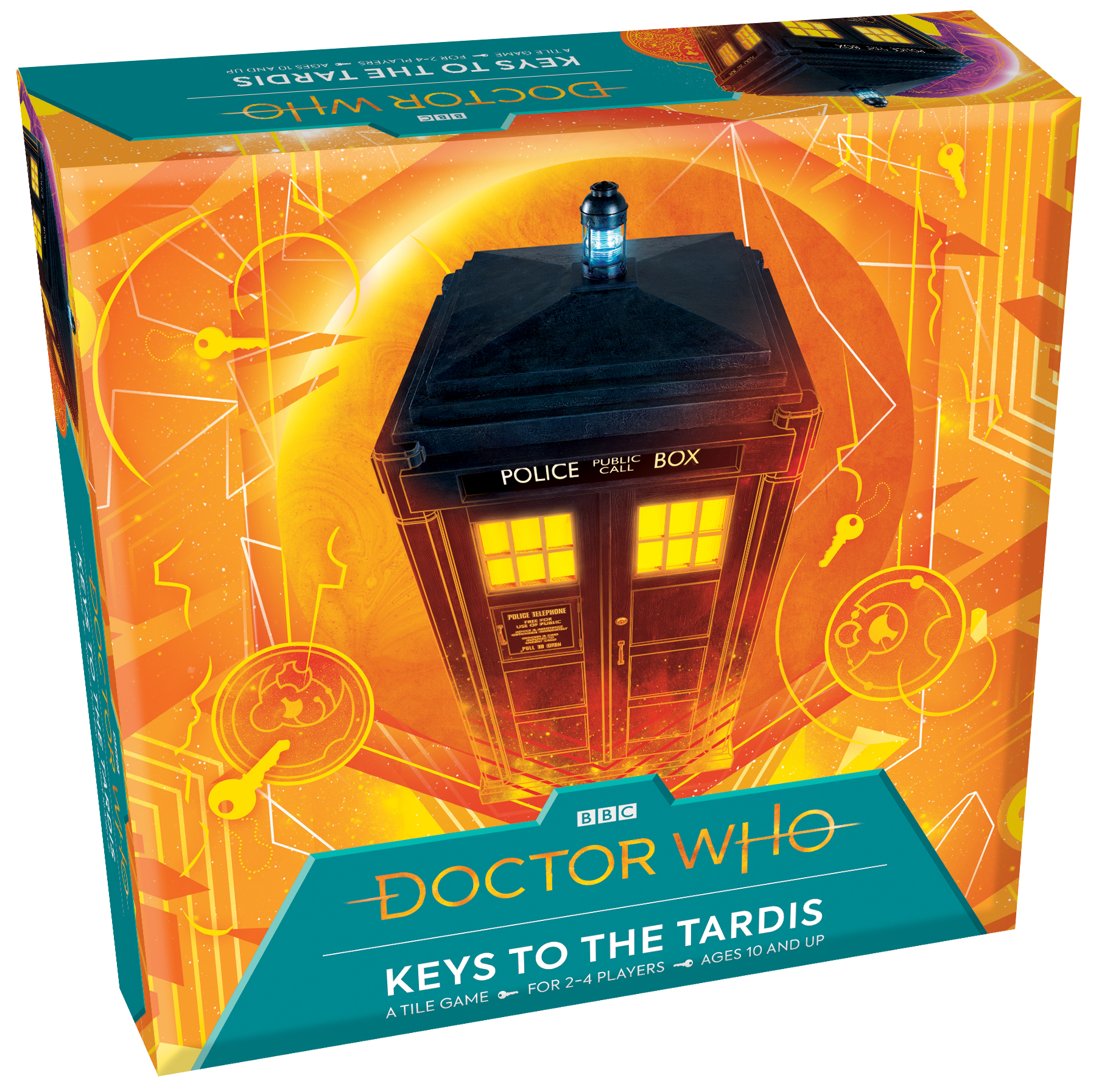 Keys to the TARDIS Doctor Who board game by Outset Media