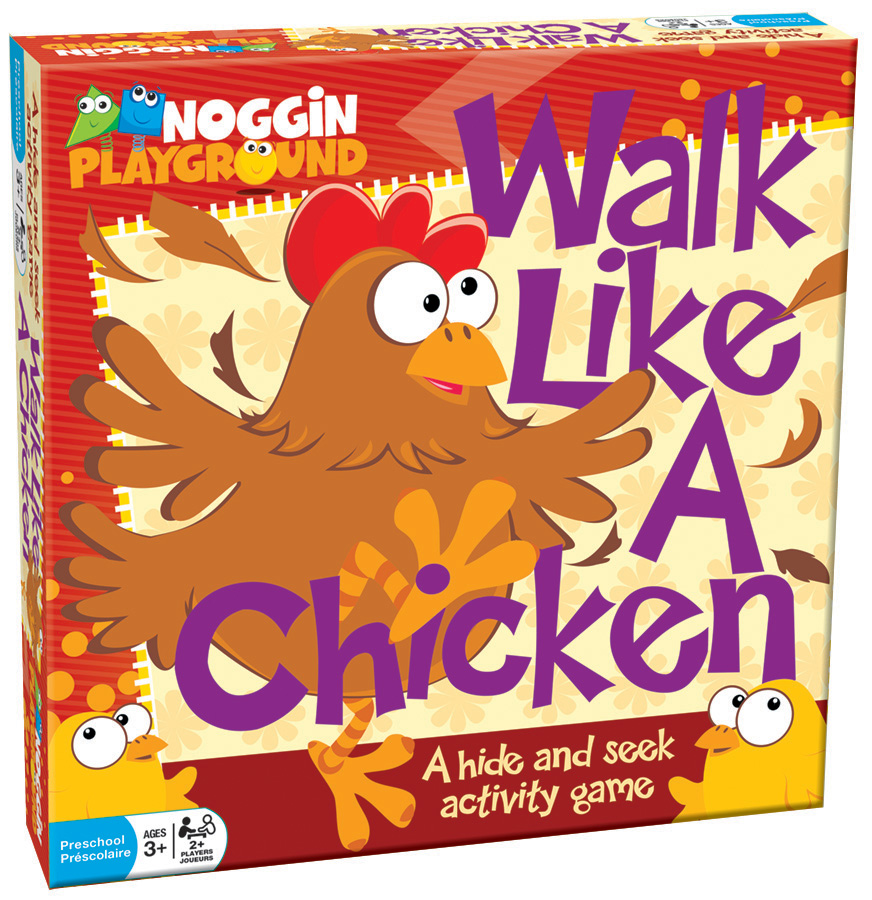 Walk Like A Chicken preschool learning game by Noggin Playground