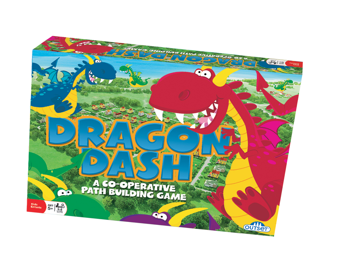 Dragon Dash preschool learning game by Noggin Playground