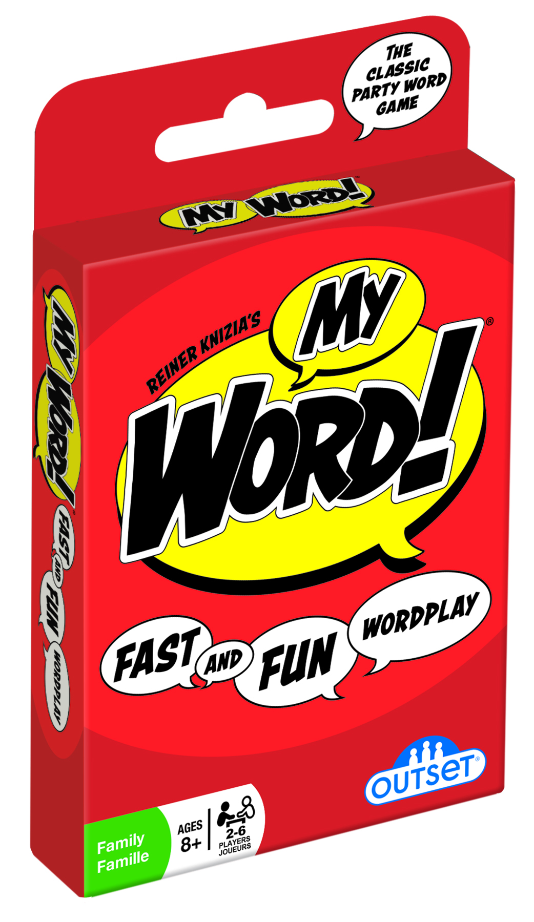 My Word! card game by Outset Media