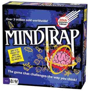 MindTrap® 20th Anniversary Edition party game best seller