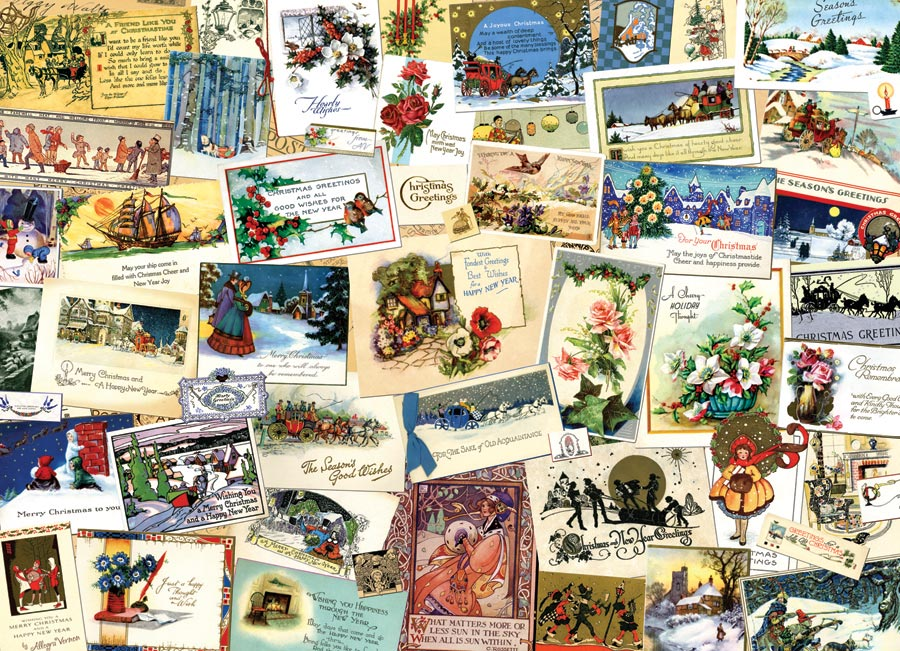 Victorian greeting cards outset media games victorian greeting cards jigsaw 1000 pieces cobble hill vintage cards puzzle m4hsunfo