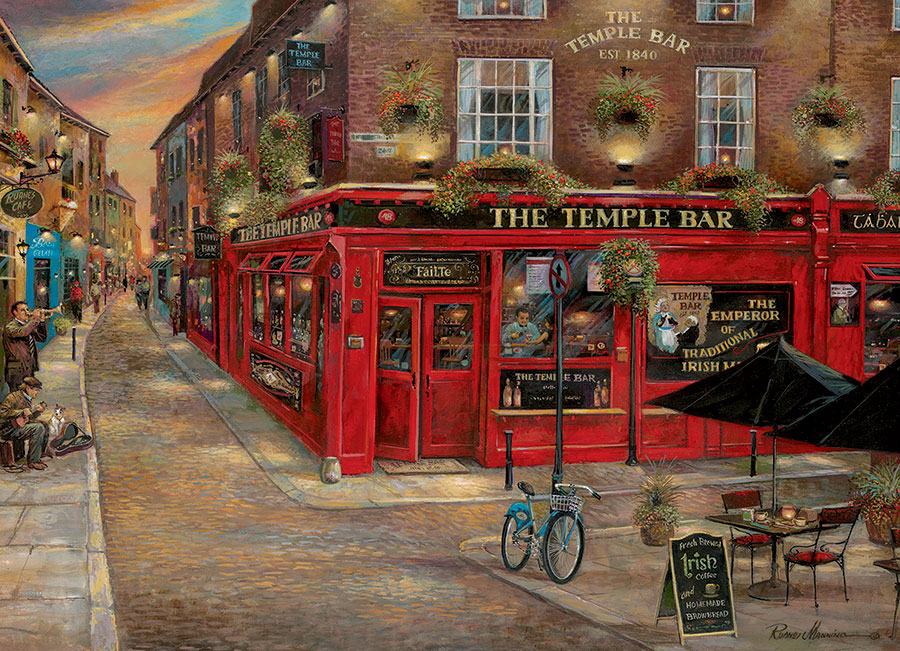 The Temple Bar 1000 piece Cobble Hill Puzzle Co scenic jigsaw