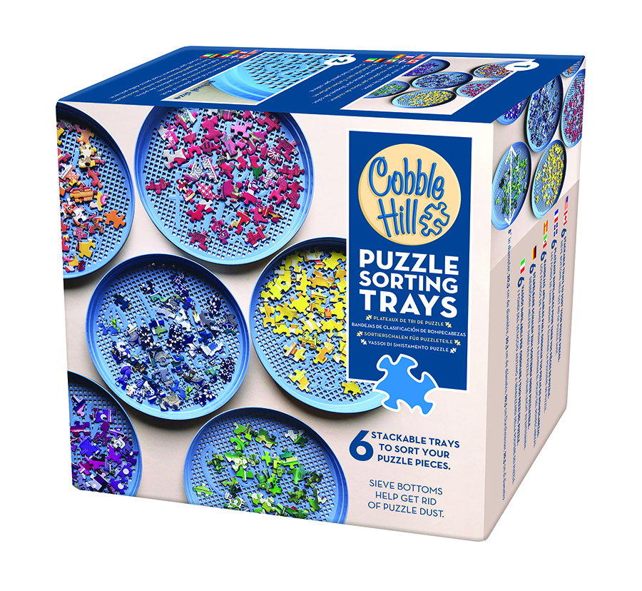 Puzzle Sorting Trays by Cobble Hill Puzzle Co