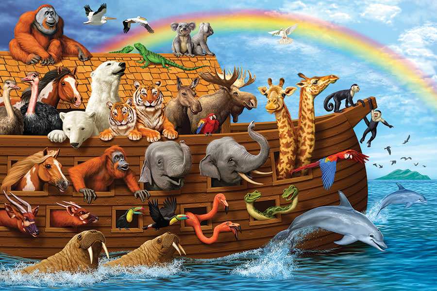 Noahs Ark Floor Puzzle Cobble Hill Puzzle Co kids jigsaw