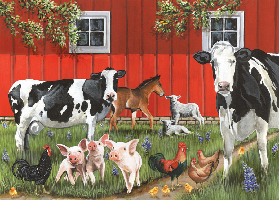 Product Specs Awards InstructionsReal Barn With Animals