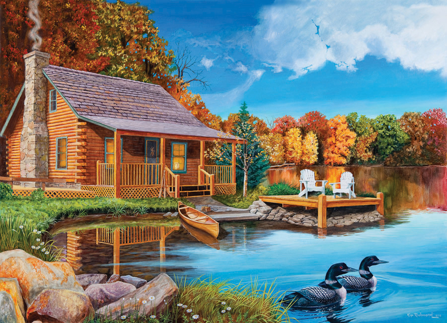 autumn cabin outset media games