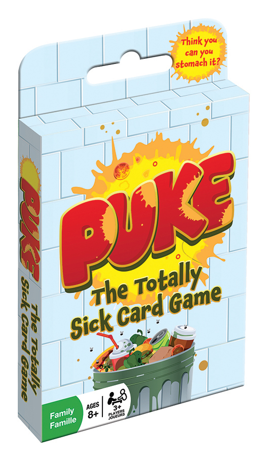 Puke card game by Outset Media
