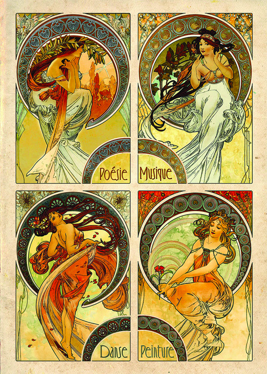 Arts (Mucha) by DToys distributed by Outset Media