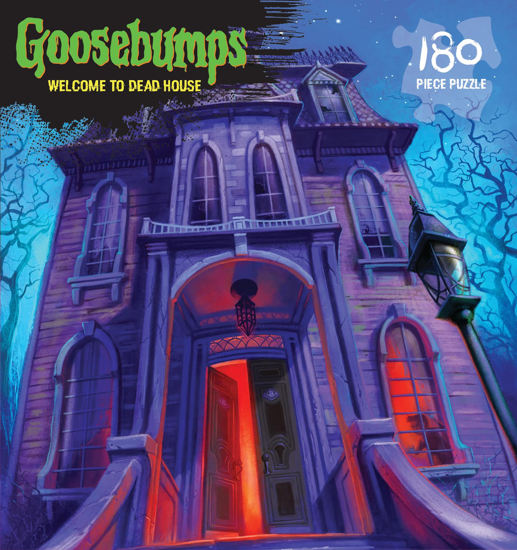 Goosebumps Puzzle - Welcome to the Dead House 180 piece puzzle by Outset Media