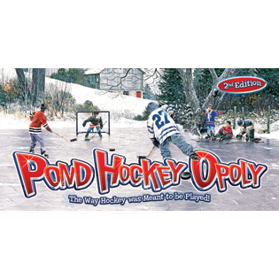 pond hockey opoly 2nd edition outset media games