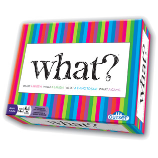 Party game for large groups | What?
