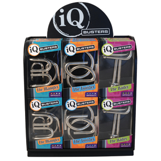 IQ Busters - Big Nails - metal puzzle