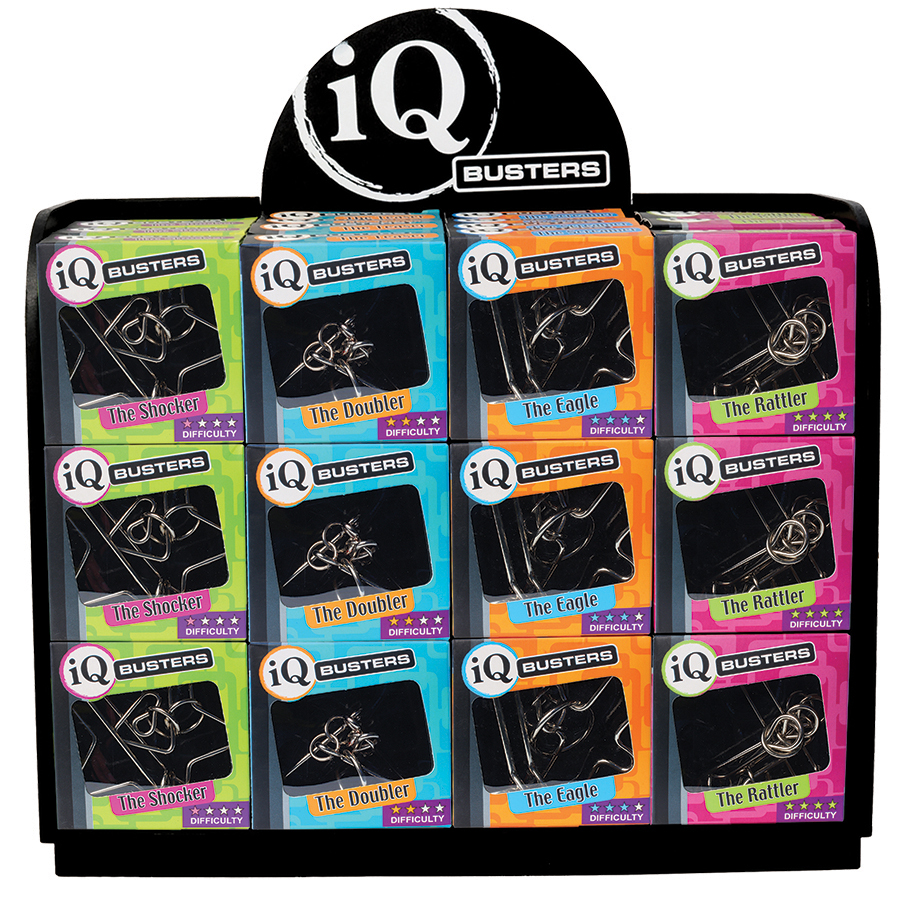 IQ Busters - Wire puzzle display for retailers