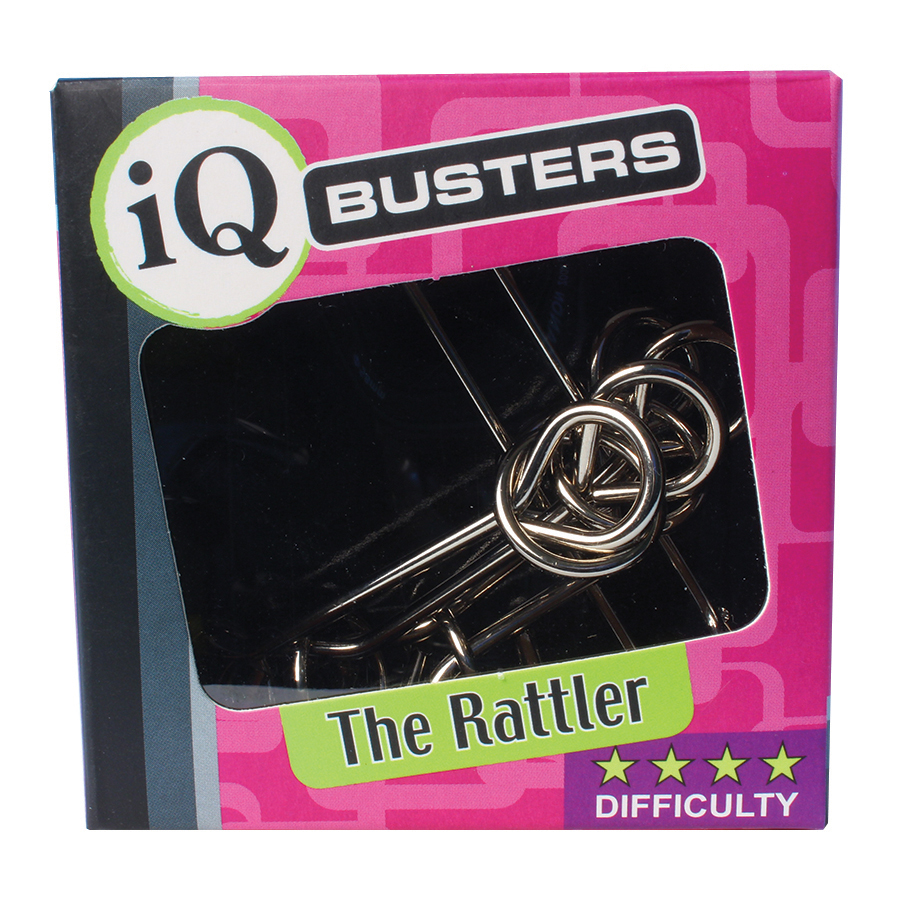 IQ Busters video solution for The Rattler puzzle by Outset Media
