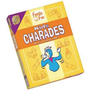 Kids Charades   party game   Outset Media
