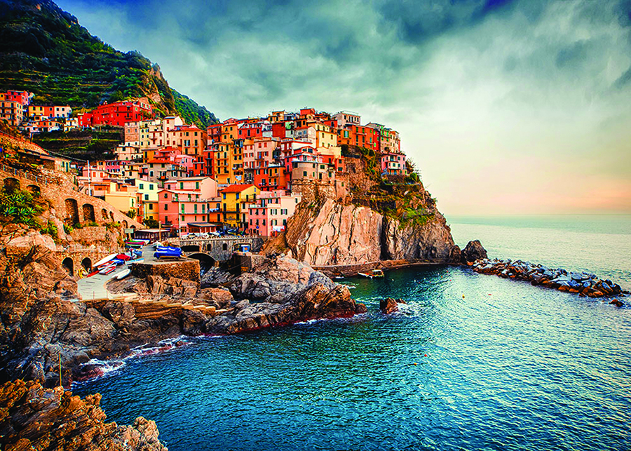 Manarola DToys puzzle distributed by Outset