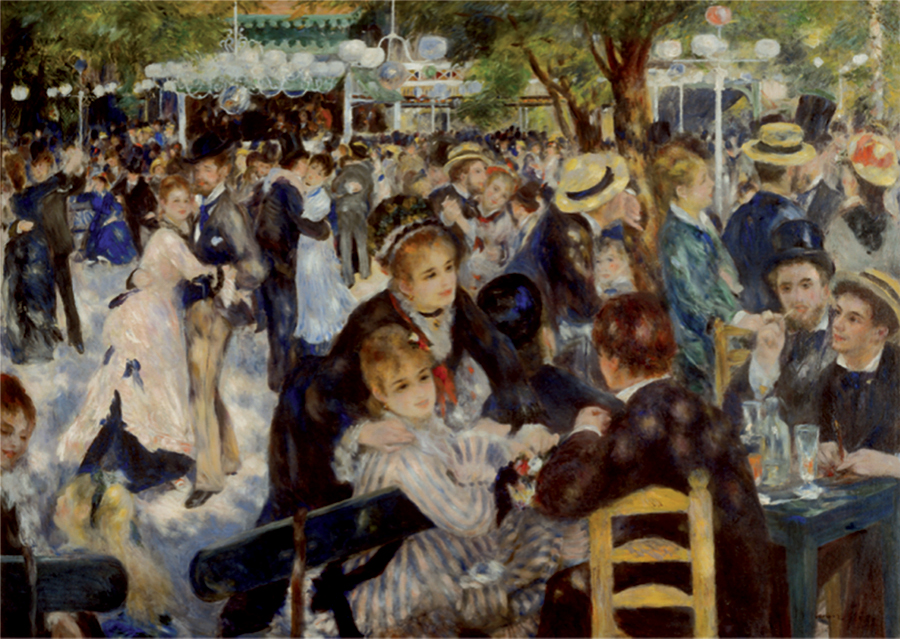 Renoir Dance At The Moulin | 1000 piece jigsaw puzzle