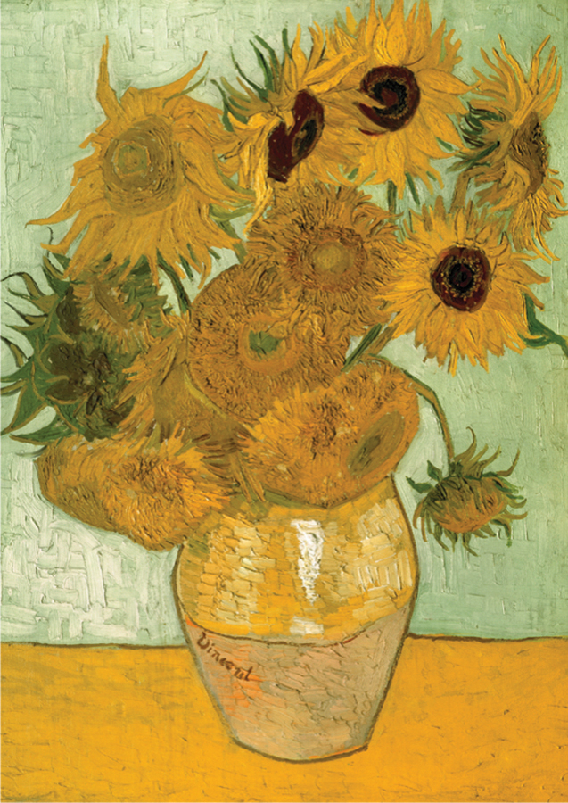 Sunflowers By Van Gogh Outset Media Games