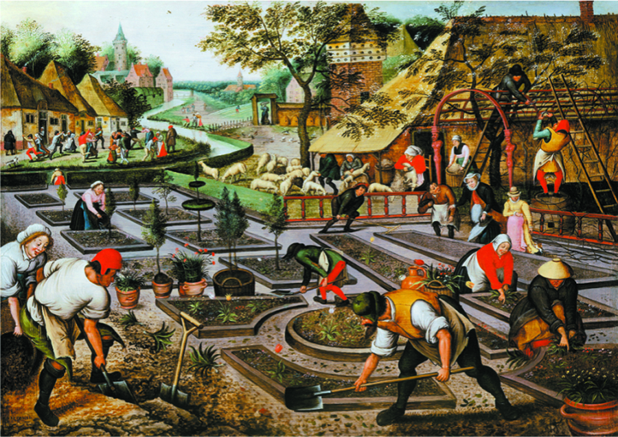 Spring By Bruegel Outset Media Games