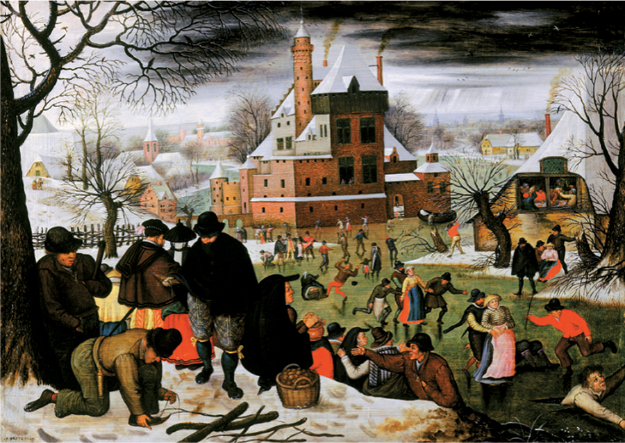 Pieter Bruegel the Younger Winter | 1000 piece jigsaw puzzle