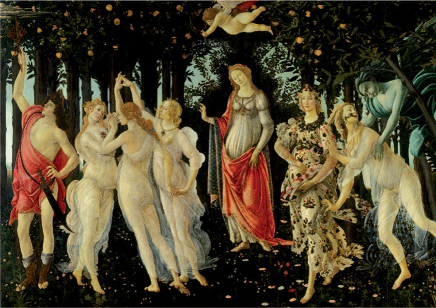 Allegory of Spring - Botticelli - 1000 piece puzzle