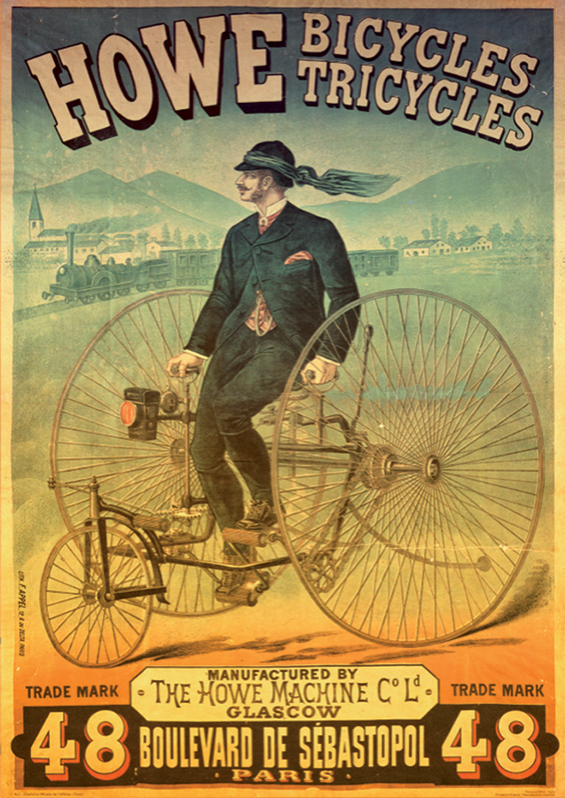 Howe Bicycles - Vintage Poster Puzzle | 1000 piece jigsaw puzzle