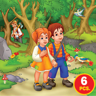 Childrens Puzzles - Fairy Tales Series 2 - 3-in-1 jigsaw puzzle