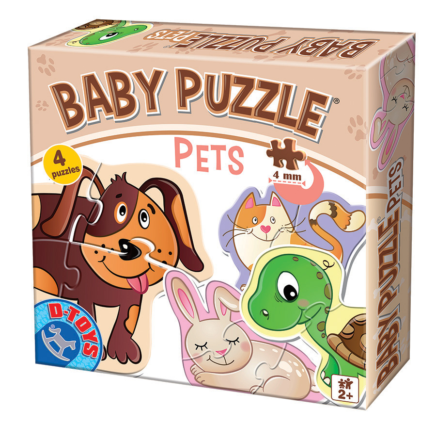 Pets Baby Puzzle D-Toys distributed by Outset Media