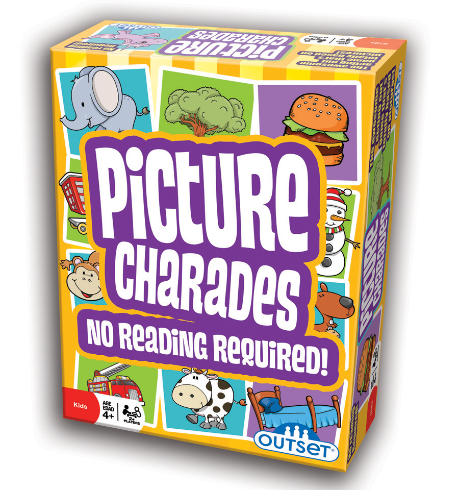 Kids party game | Picture Charades kids party game card game