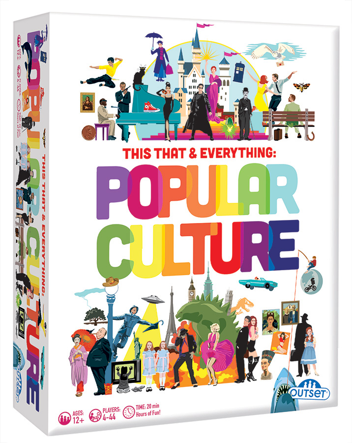 This That & Everything: Pop Culture card game by Outset Media